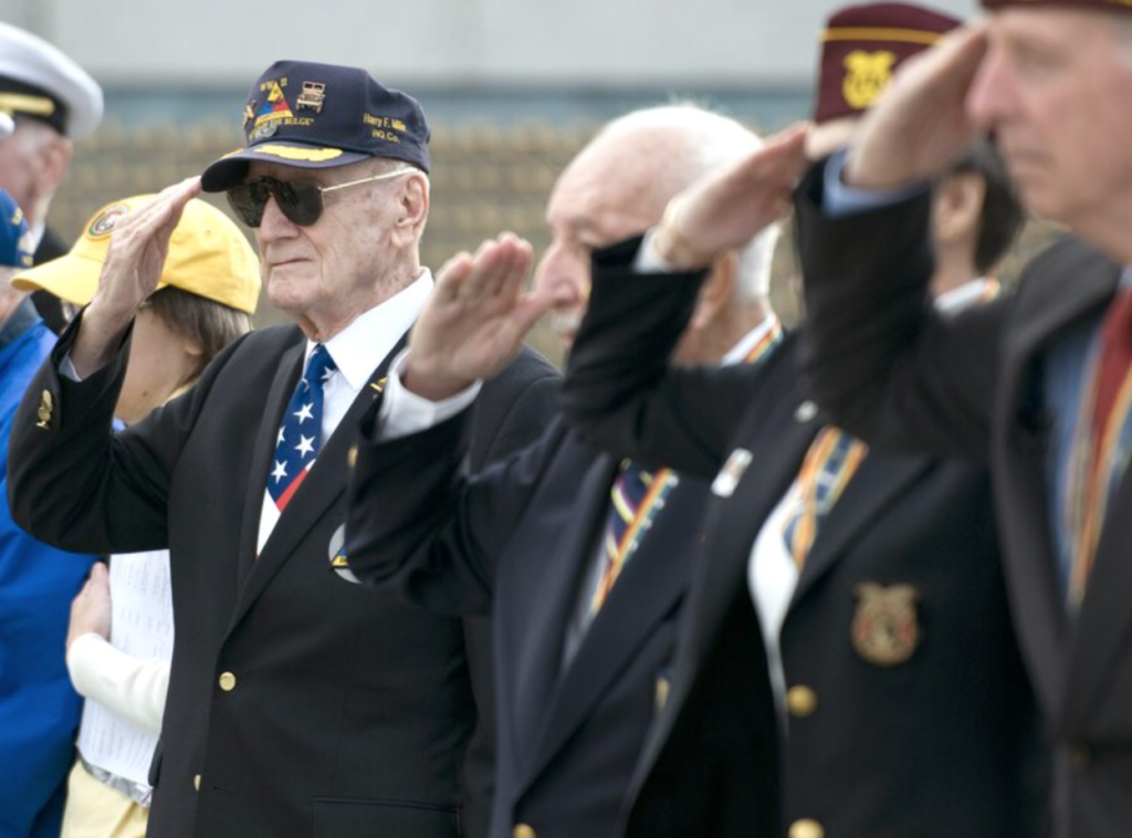 WWII Veterans Salute