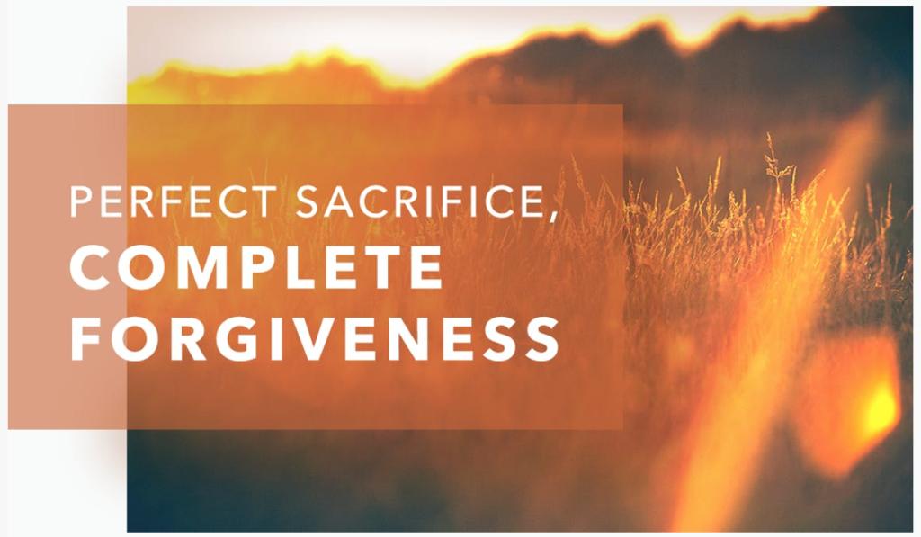 Perfect sacrifice